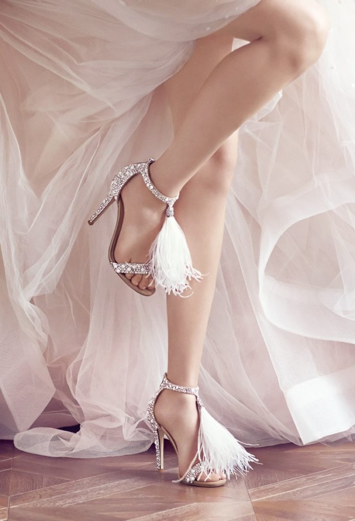 951f586b43d The perfect keep-sake  personalize your Jimmy Choo wedding shoes ...